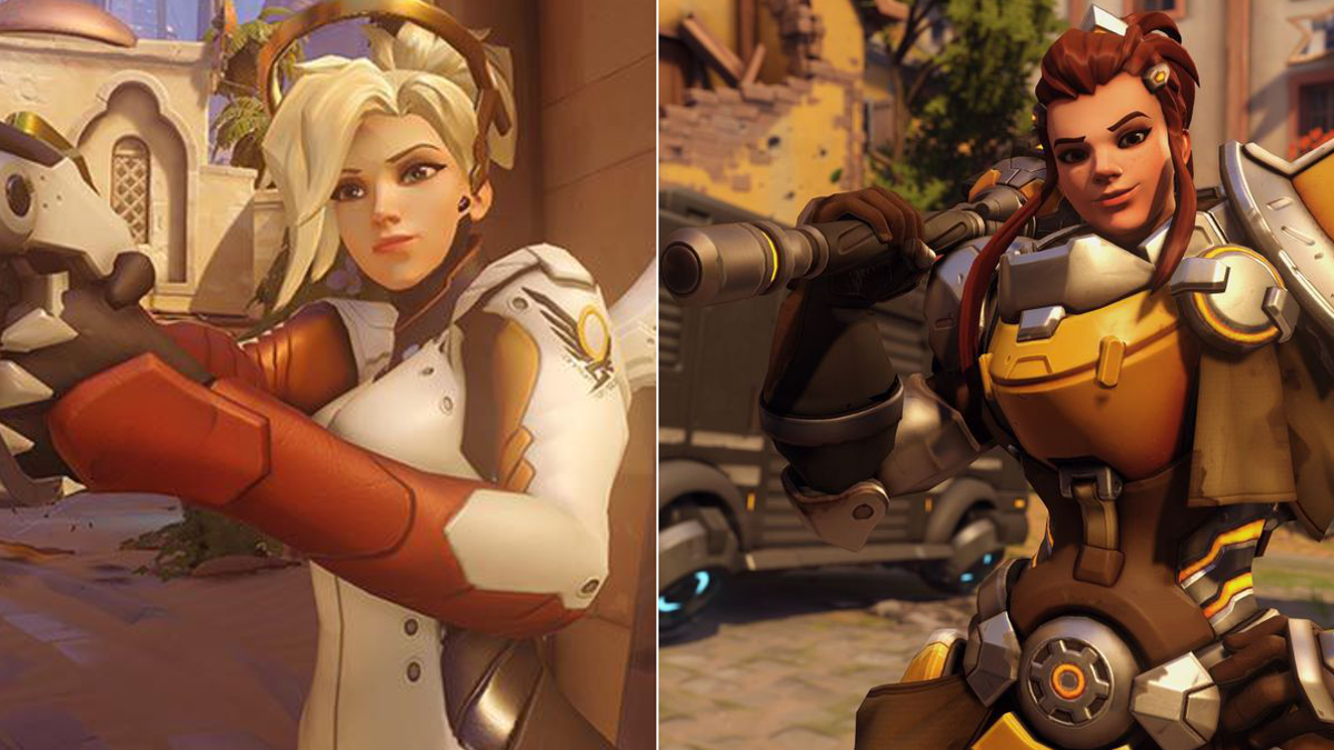 Some Overwatch Players Think Brigitte S Face Looks Too Much Like Mercy S