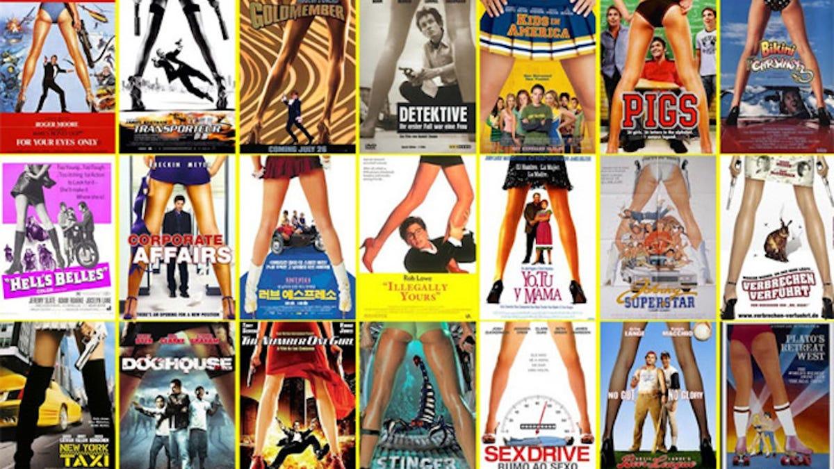 Hay 10 tipos de películas según el diseño de los carteles