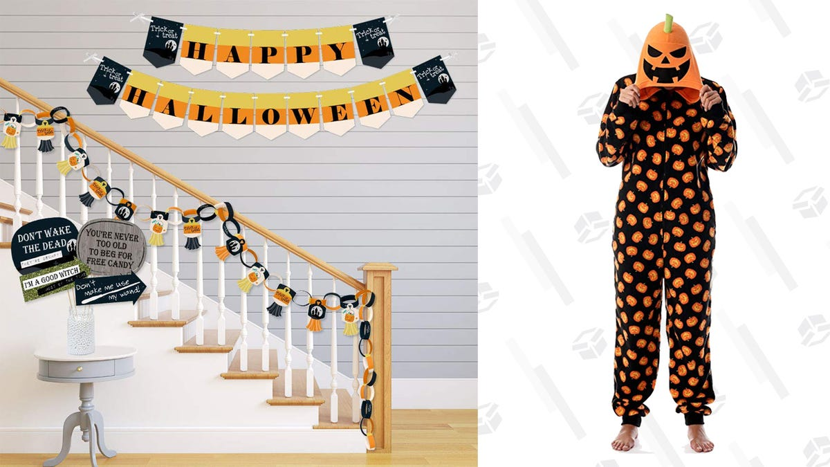 These Deals on Halloween Decor and Onesies Are Scary Good