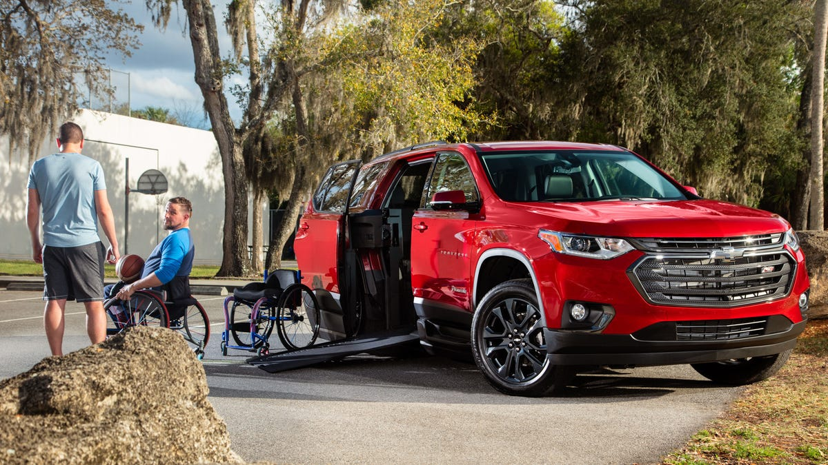 This $78,000 Chevrolet Traverse Is Actually Pretty Awesome