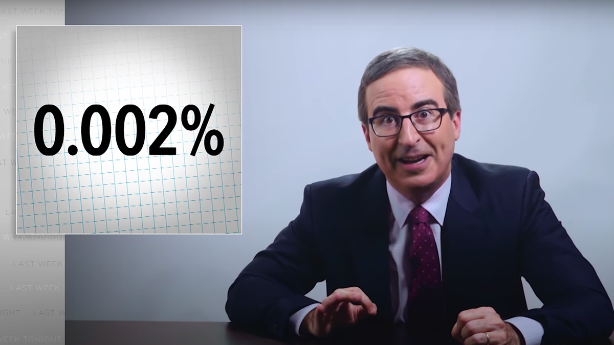 John Oliver debunks sweaty GOP vote-by-mail fraud claims with facts, stickers
