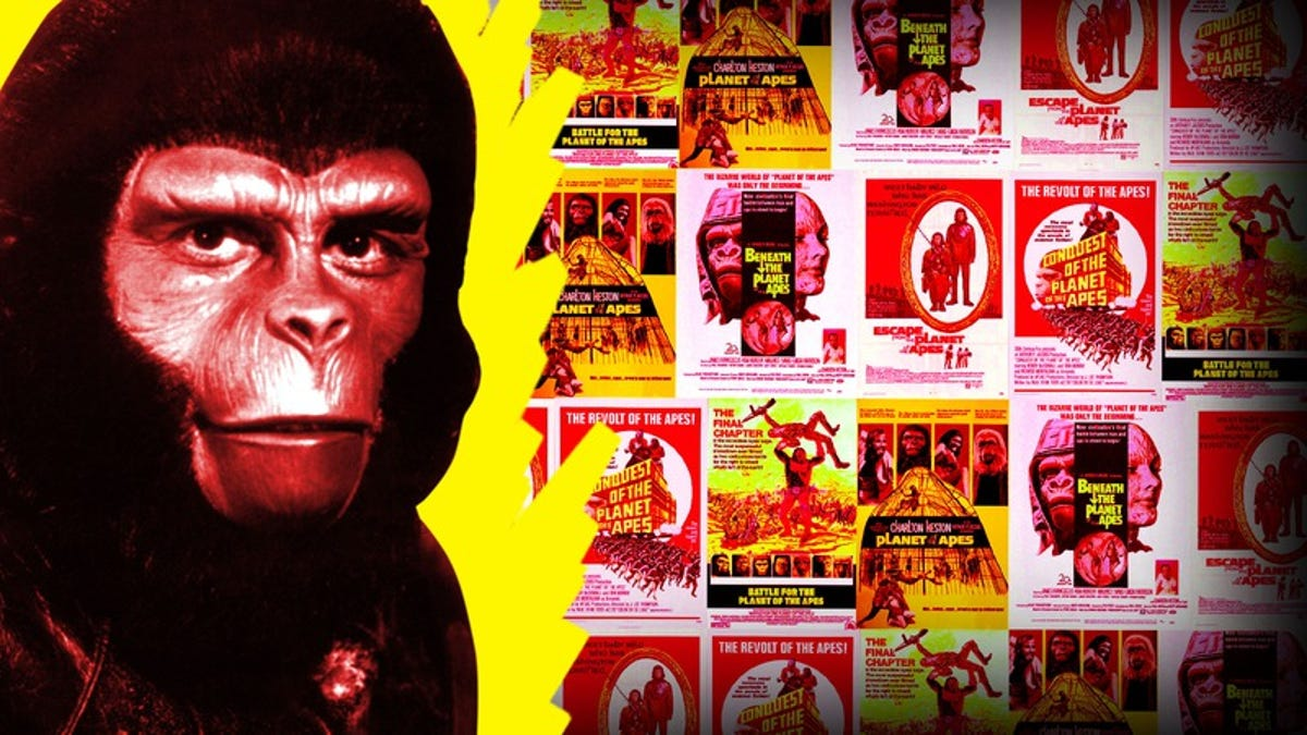 The original Planet Of The Apes series became more daring from movie to movie