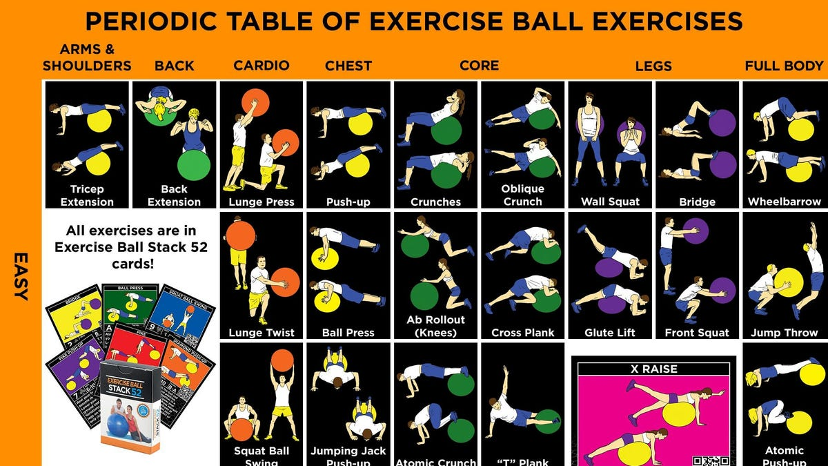 Get a Well Rounded Workout With These Stability Ball Exercises