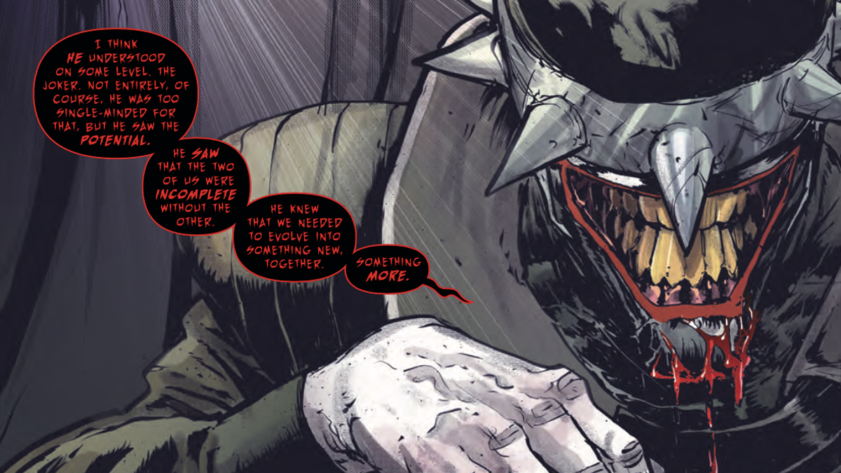 The Batman Who Laughs Is One Of Dc S Most Gruesome And Shocking