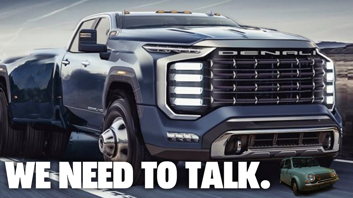 Hey Maybe Someone Go Check And See If GM's Truck Designers Are OK