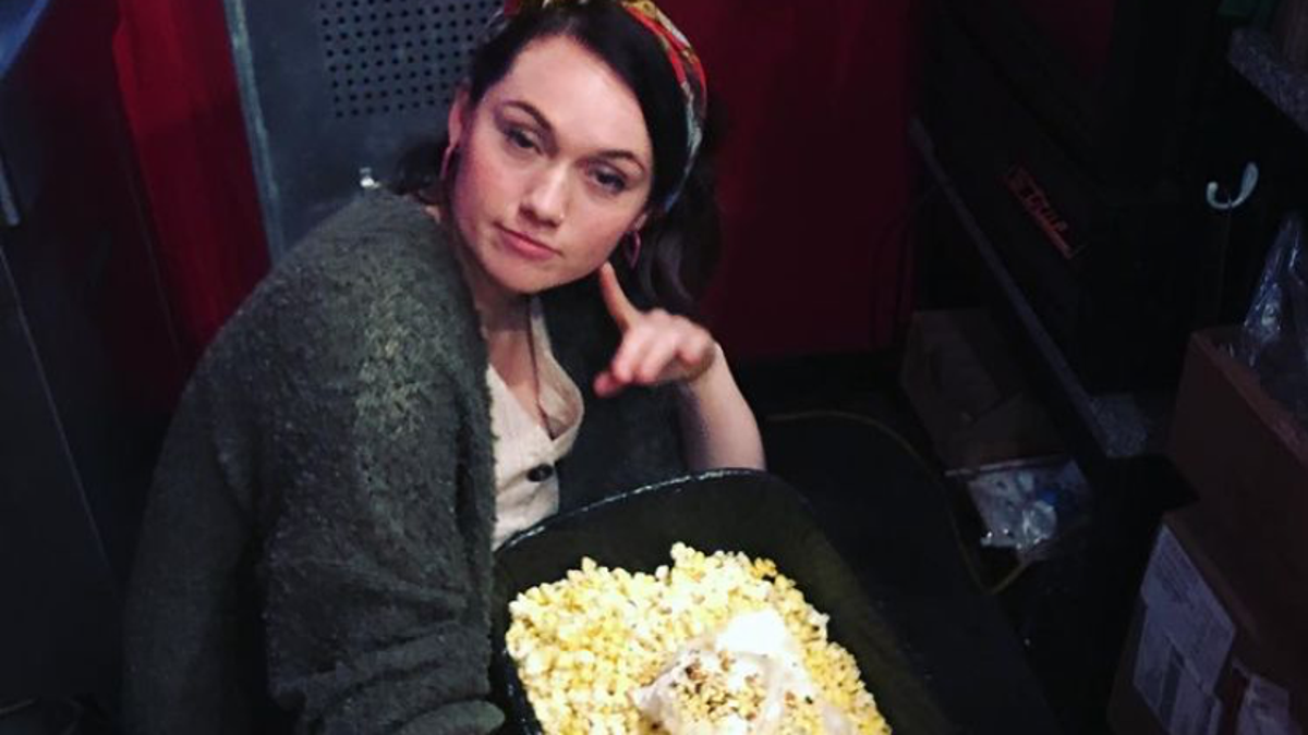 Last Call: What's the most ridiculous food you've ever snuck into a movie theater?