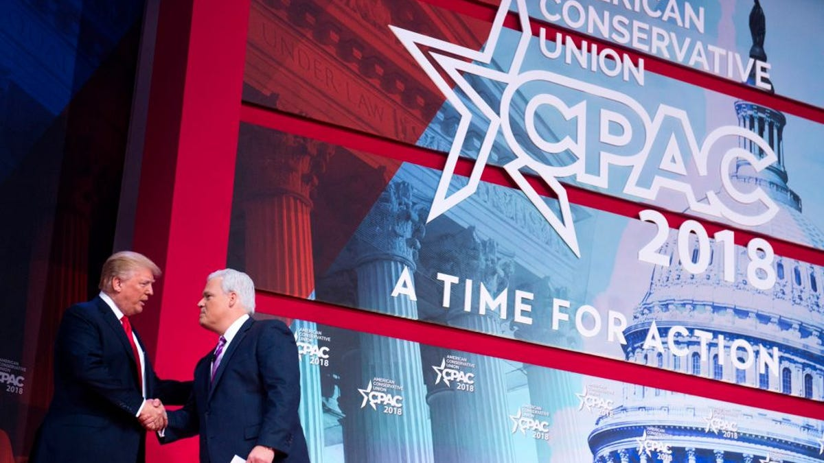 White House Fears Trump's Handshake at CPAC Could've Exposed Him to the Coronavirus