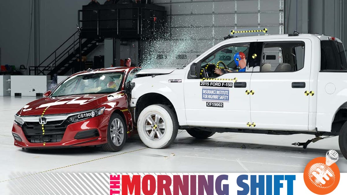 The IIHS Wants To Make Crash Tests Even Faster And More Intense