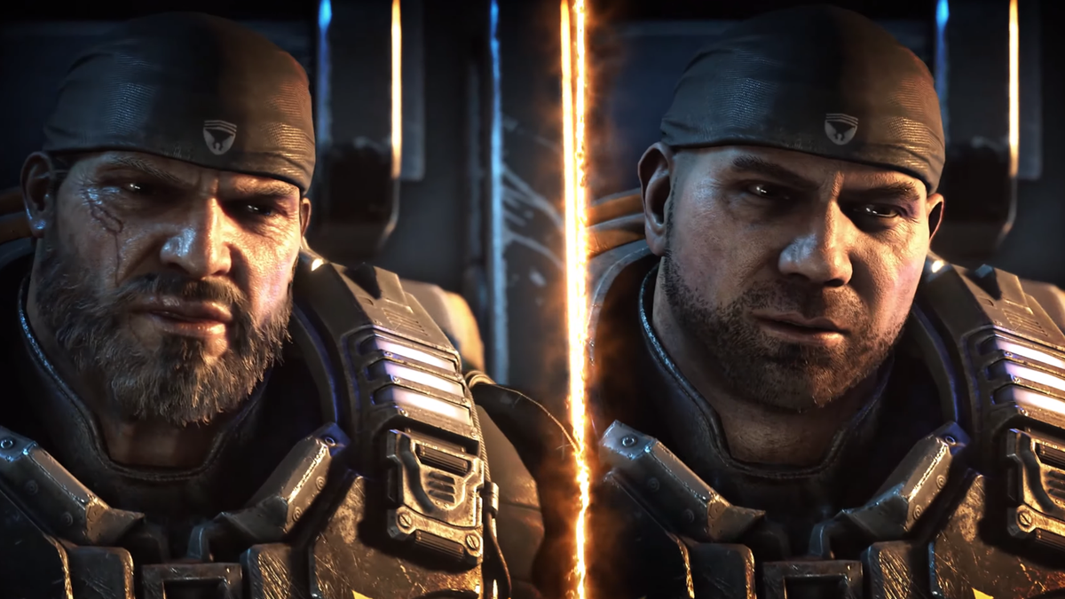 Gears 5's Next Update Lets You Recast Marcus Fenix As Dave Bautista
