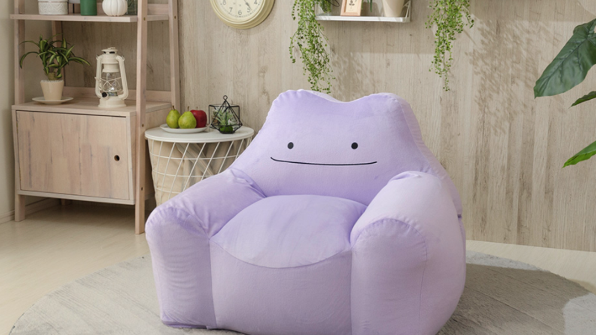 Ditto Makes For An Excellent Pokémon Sofa