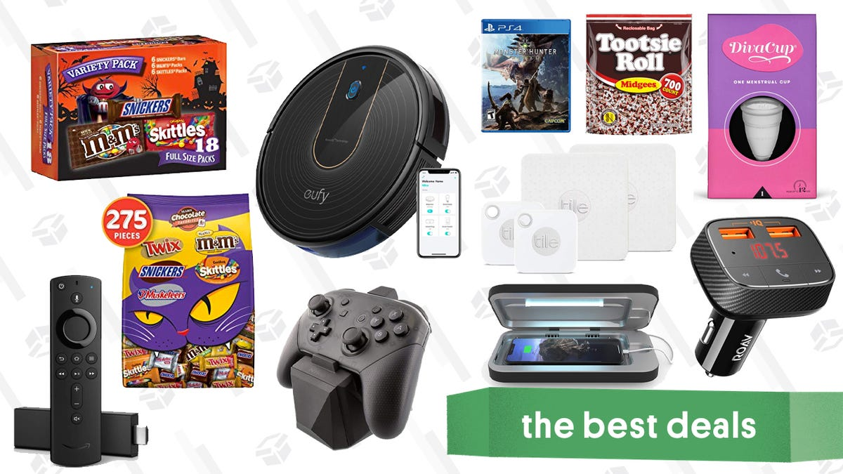 Monday's Best Deals: Kate Spade, Fire TV Sticks, eufy 15c RoboVac, and More