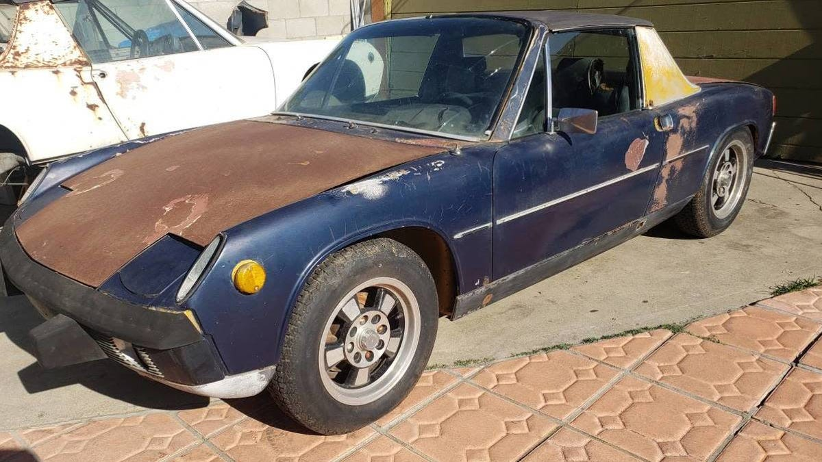 At $2,350, Could This 1973 Porsche 914 Project Get You To Roll Up Your Sleeves?