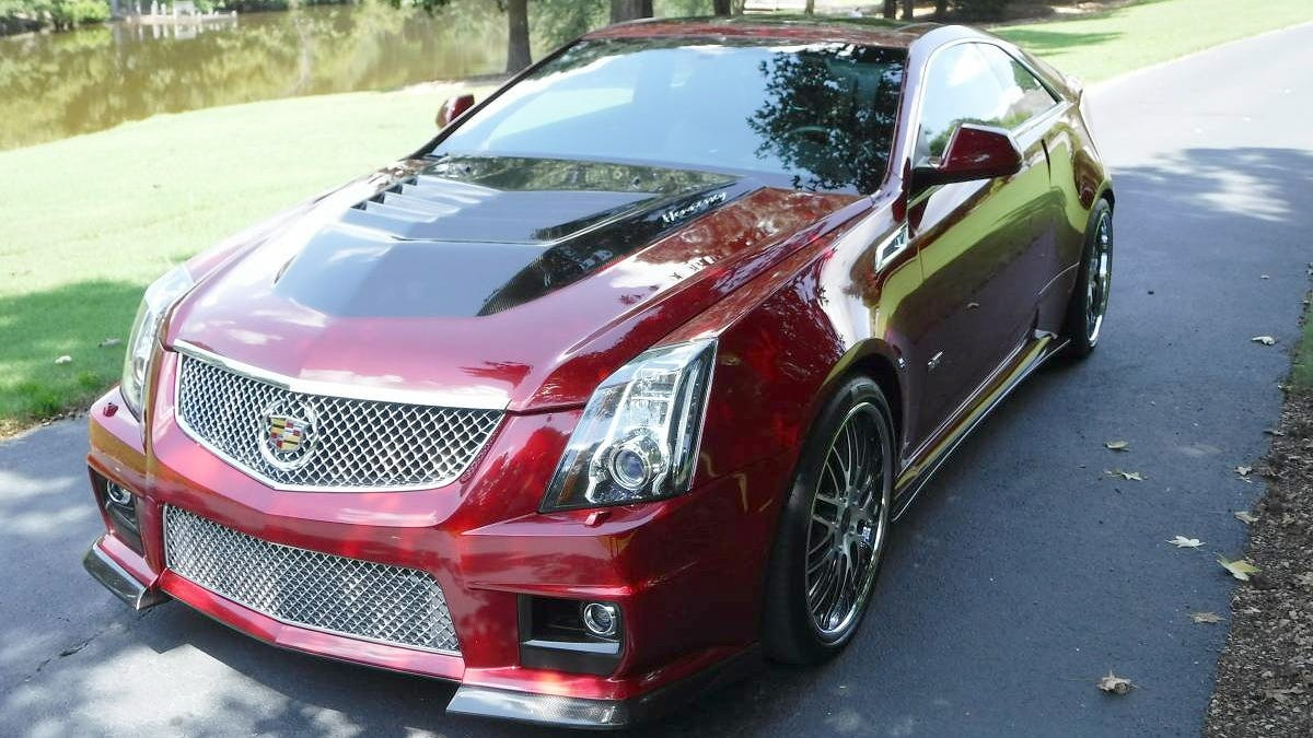At 57 000 Could Anyone Torque You Outta Buying This 2011 Hennessy Cadillac Cts V