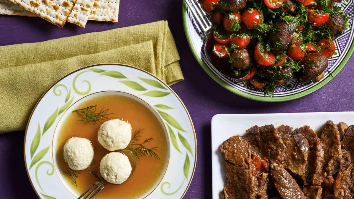 Anyone can enjoy the cuisine of Passover, and these chefs highlight their favorite dishes