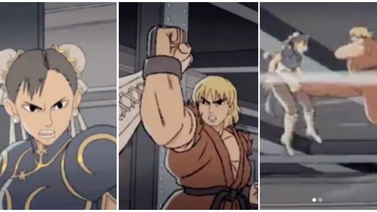 Animator Inspired By Daigo Vs. Justin Wong Street Fighter Match