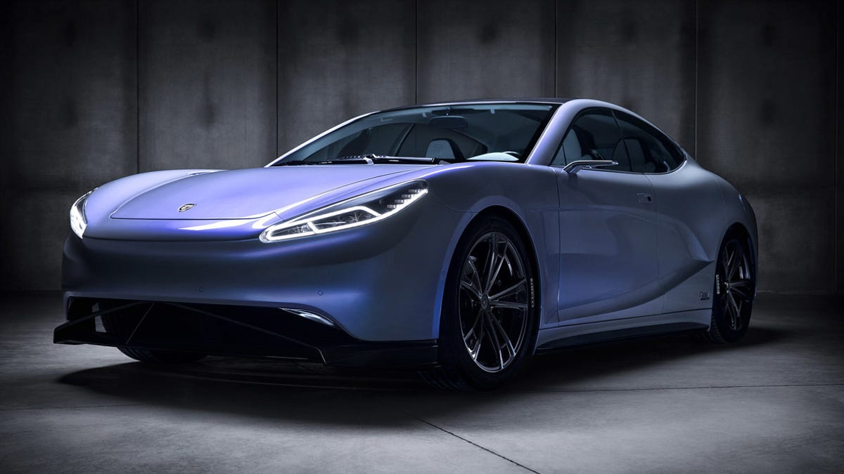 This Might Be The Best Looking Electric Car I Ve Ever Seen
