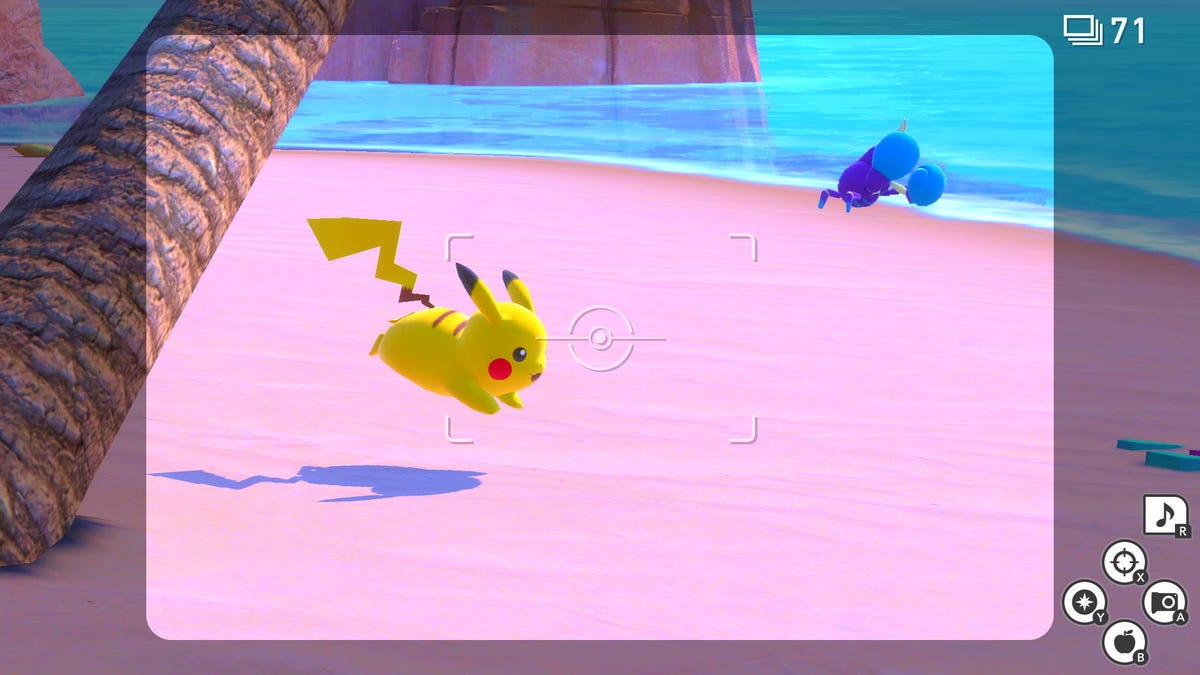 New Pokémon Snap Is Like Old Pokémon Snap, Only Much Prettier
