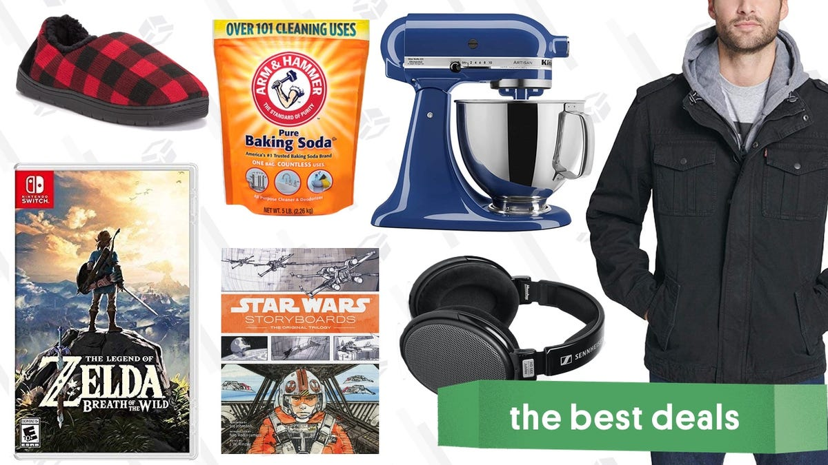 Sunday's Best Deals: Coats and Jackets, KitchenAid Mixers, Switch Games, And More