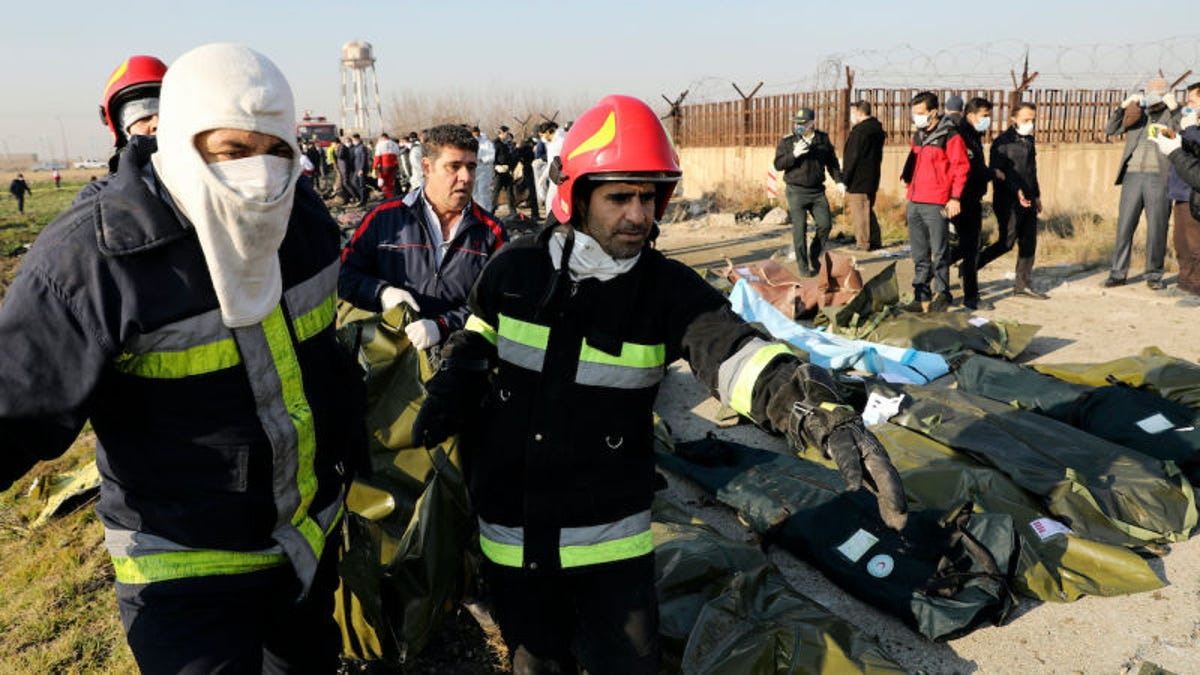 Todo lo que sabemos sobre el accidente aéreo en Irán que ha matado a 176 personas