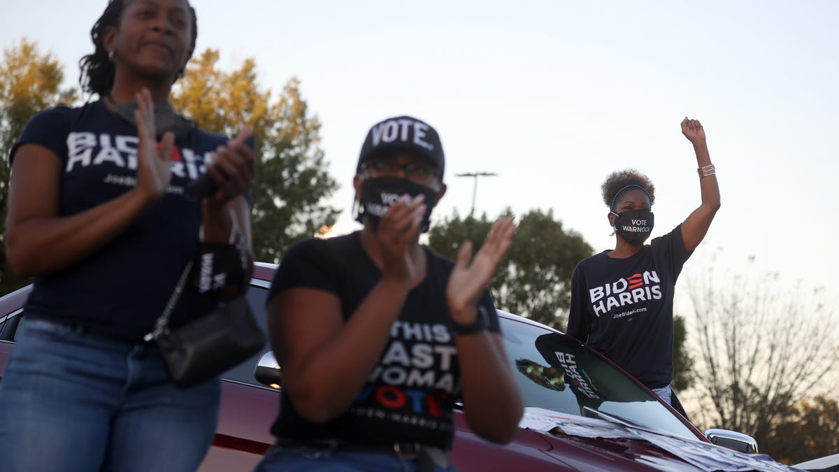 The Black Women Who Fought to Turn Georgia Blue Say It Took Decades for Democrats to Listen