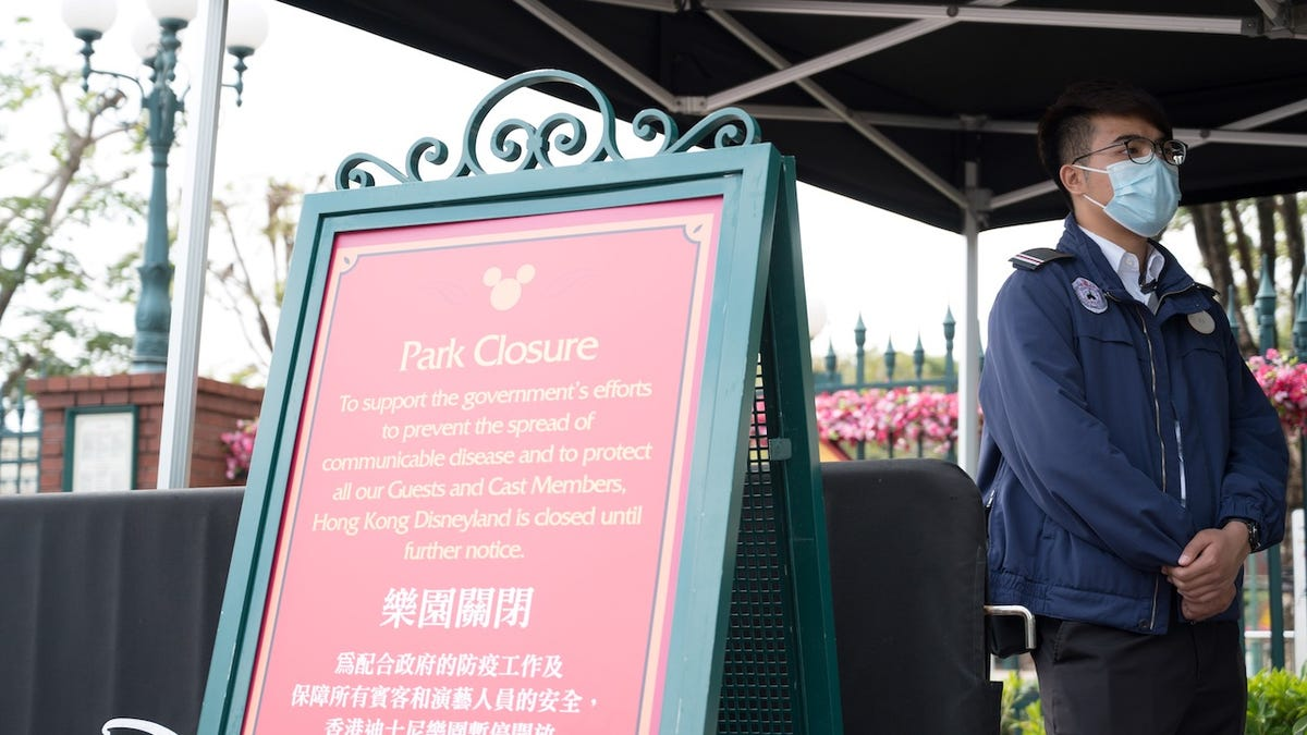 Second Disney Park Closes As Coronavirus Death Toll Rises to 81 With Over 2,800 Sick