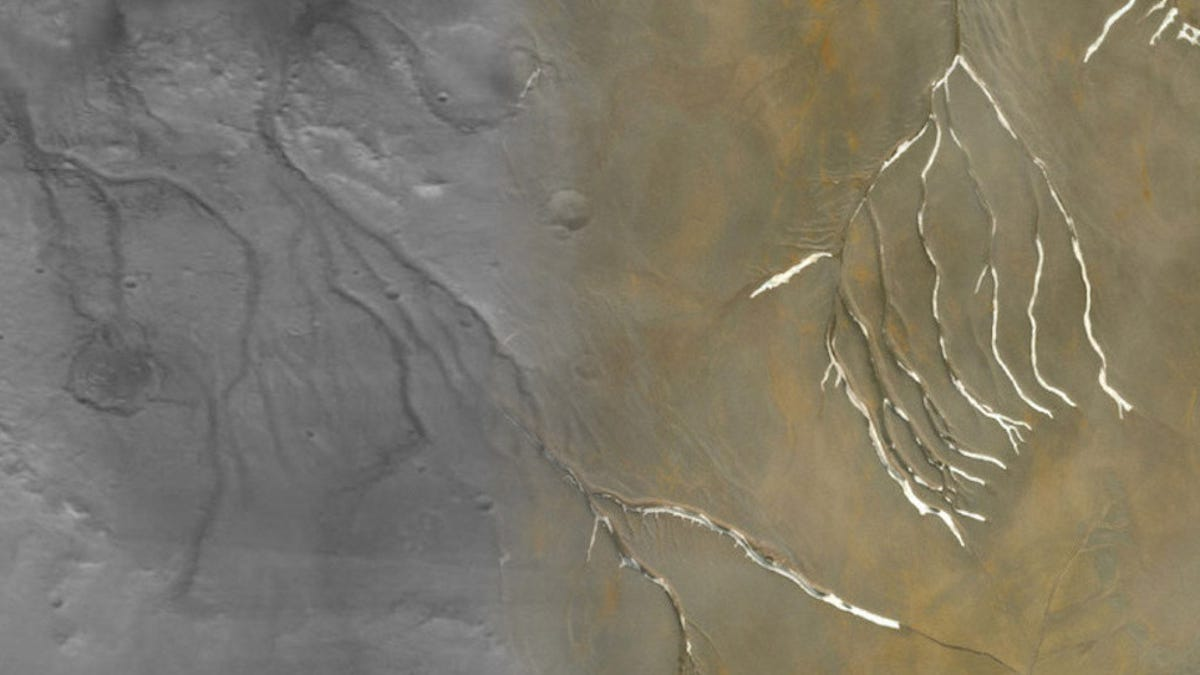 Ancient Mars May Have Been Less Wet Than We Thought - Gizmodo