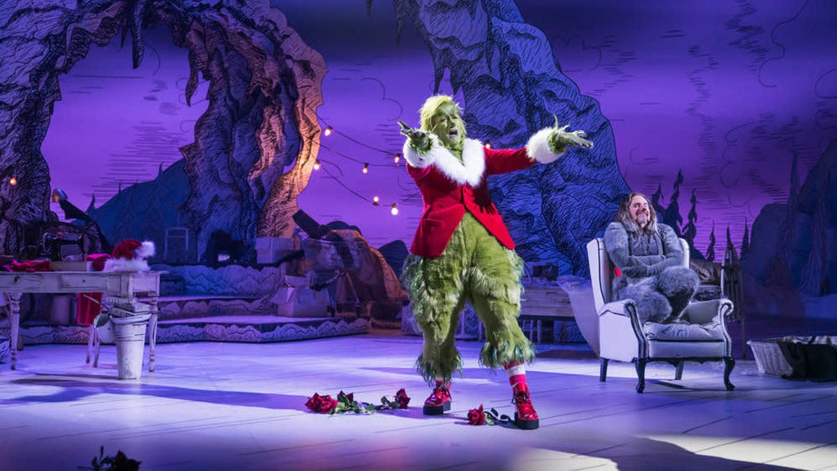 NBC's Dr. Seuss' The Grinch Musical! stink, stank, stunk