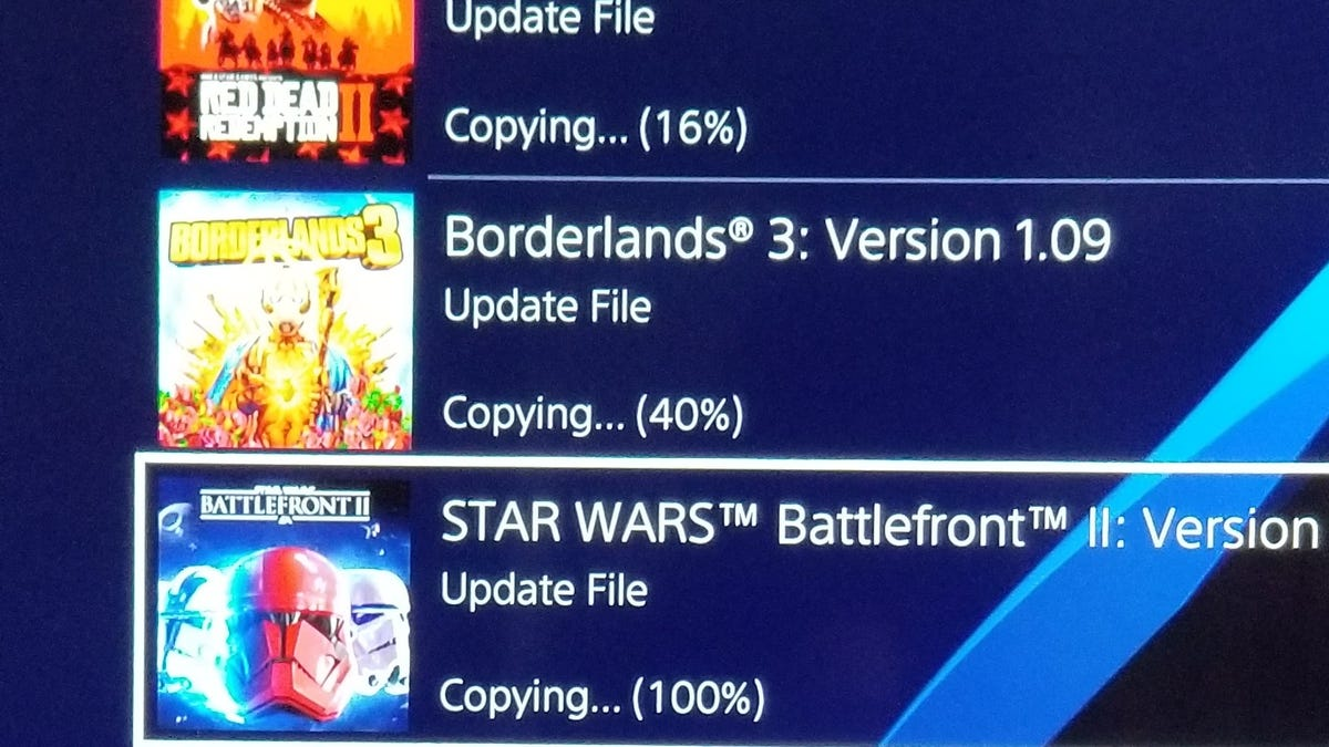 Updating Games On PS4 Is Like Pulling Teeth
