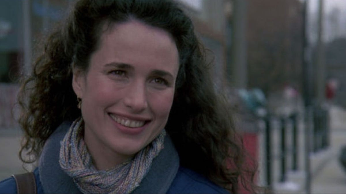 Andie Macdonald this recut of groundhog day from andie macdowell's