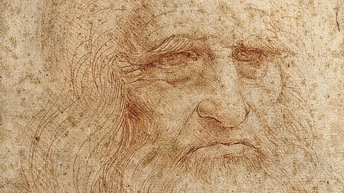 "The ""Mystical"" DaVinci Self-Portrait That Was Hidden From Hitler"