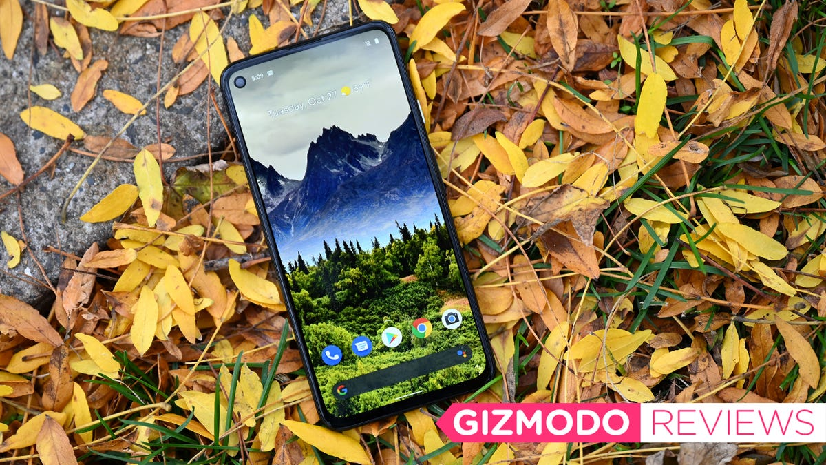 Google Pixel 4a 5G Review: Hands Down the Best $500 Phone Around