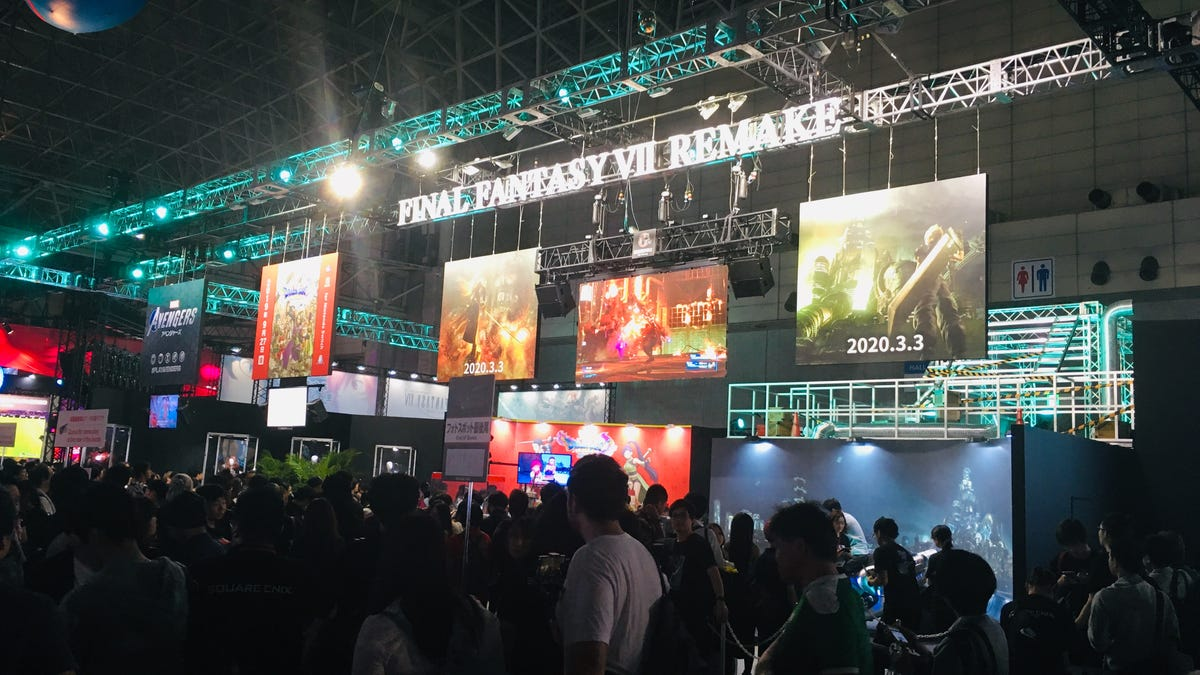 Final Fantasy VII Remake Seems Popular At The Tokyo Game Show