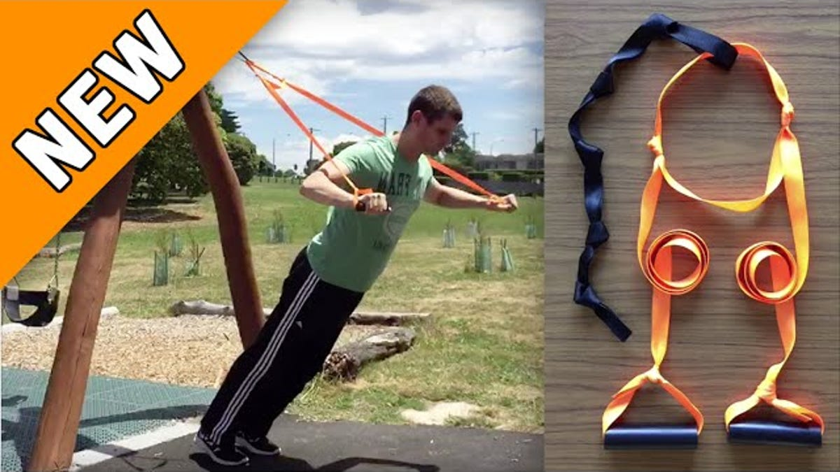 Make This Easy, DIY Suspension Trainer