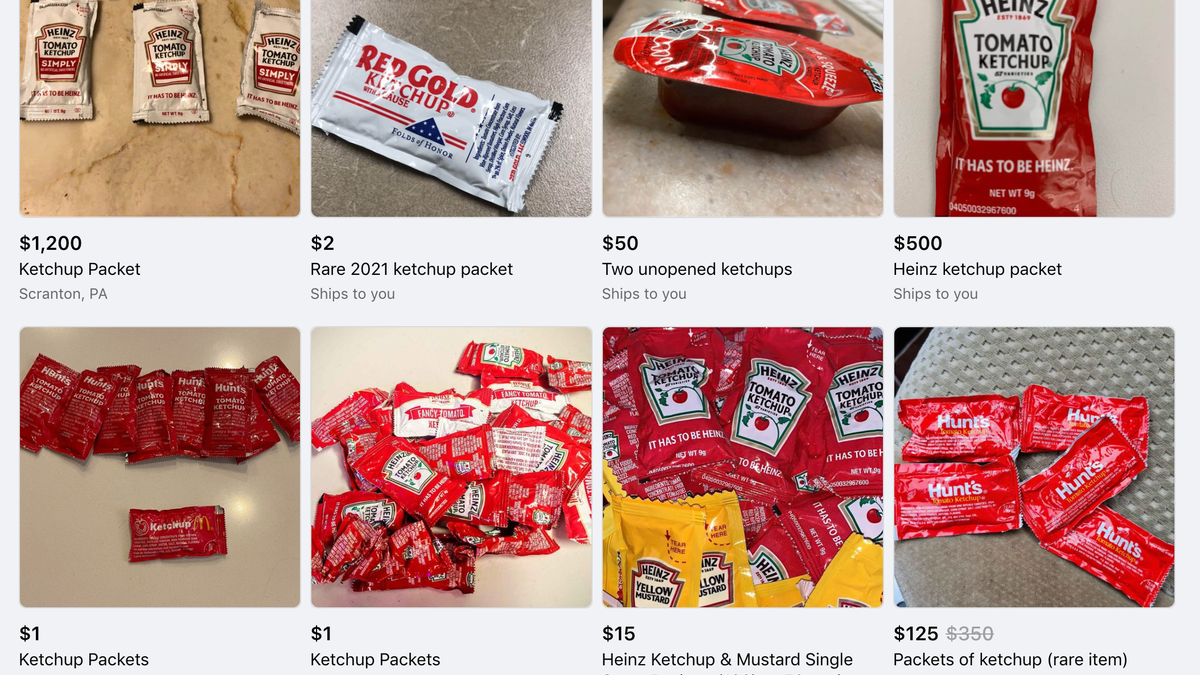 There's a Black Market for Ketchup Packets Now