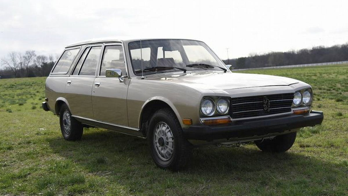For 13 000 Could This 1982 Peugeot 504 Diesel Wagon Be A Bodacious Baguette Bringer