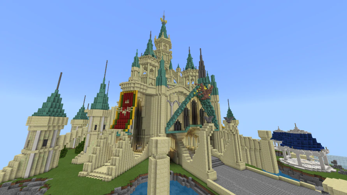 Breath Of The Wild S Hyrule Castle Has Finally Been Restored In Minecraft