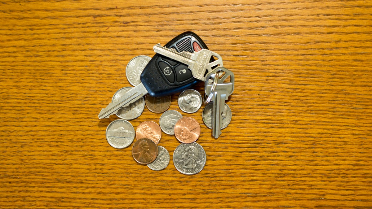 Keep an Extra Car Key Fob by Your Bed