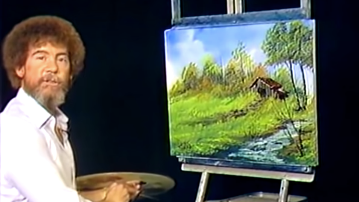 Bob Ross is now canon in Magic: The Gathering