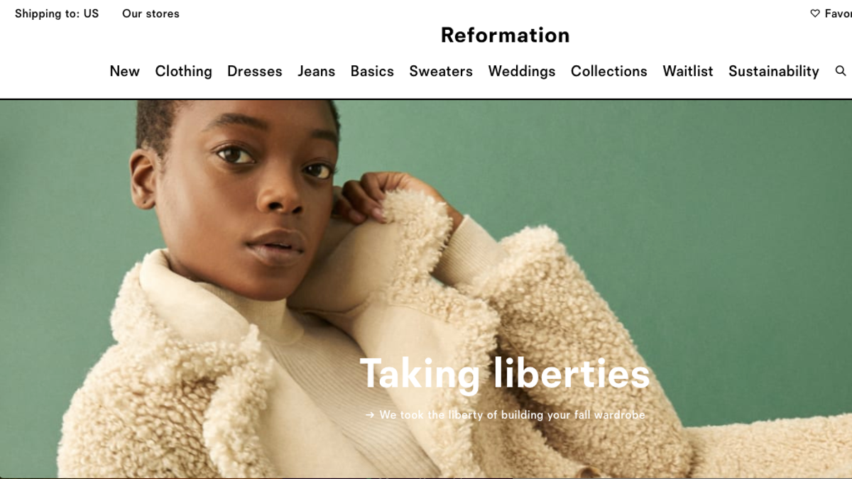 Reformation Conveniently Finds Its Workplace Culture Is 'Not Racist'