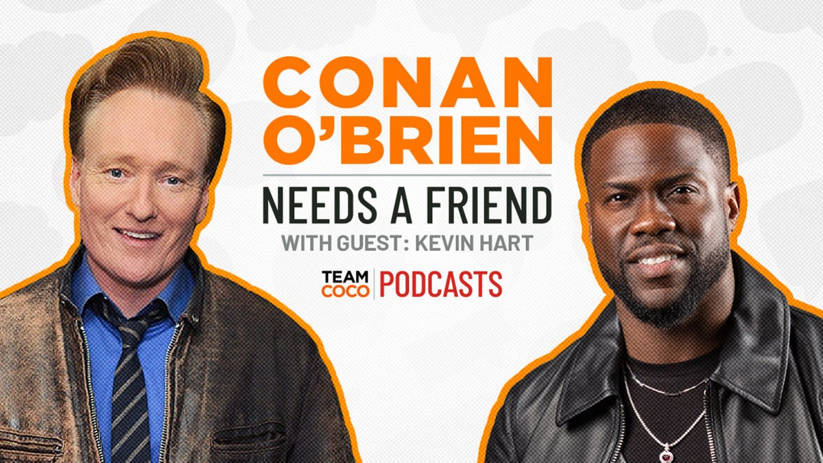 Exclusive Podcast Clip: Kevin Hart Told Conan O'Brien Why He Feels Pressured to Take Every Damn Job