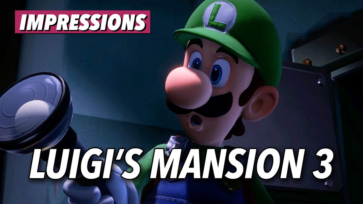 Luigi's Mansion 3 Is The Kind Of Nintendo Game My Switch Has Been Missing