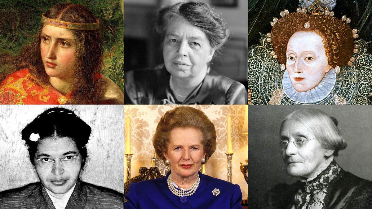 20 Frauen Im Laufe Der Geschichte Und 5 Aus Der Zukunft