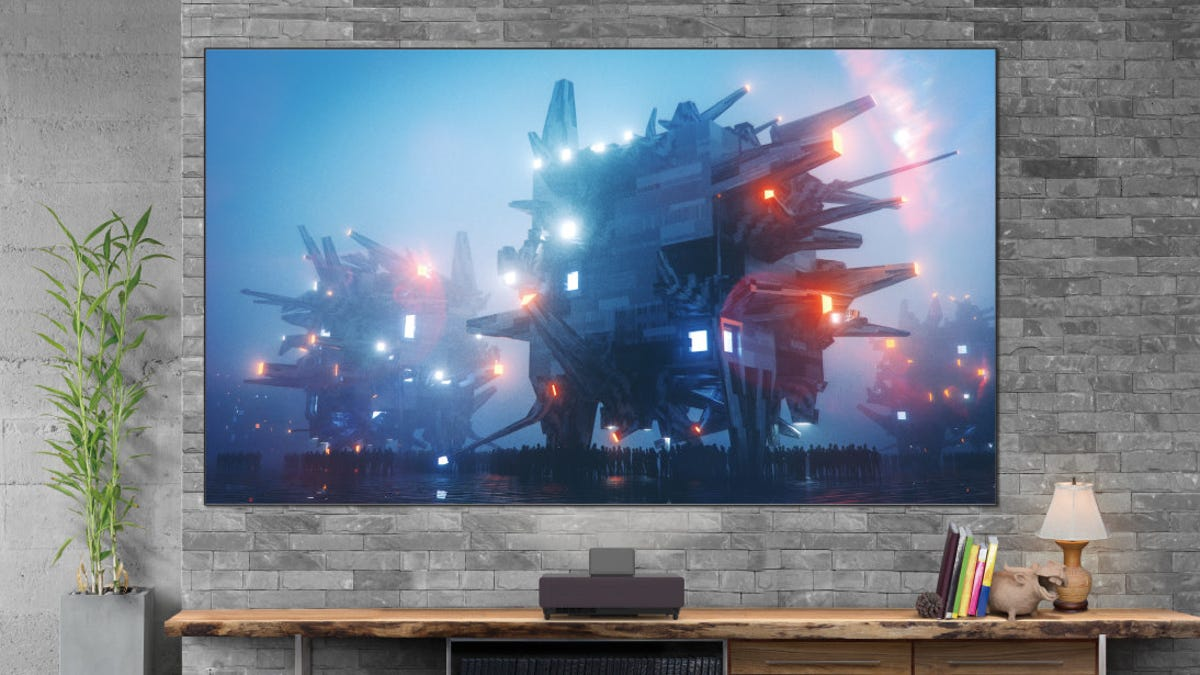 photo of Epson Debuts New Ultra Short-Throw, Android-Powered 4K Projector image