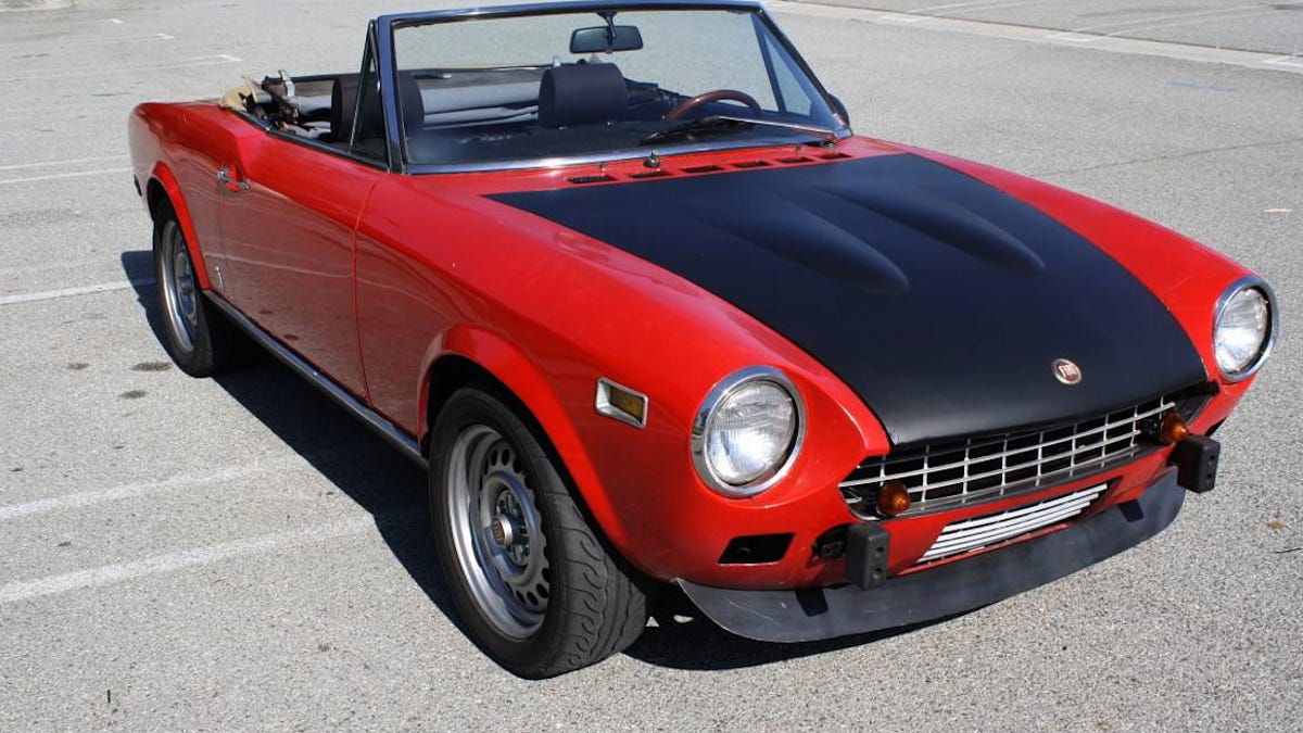 For $8,000, Could This 1975 Fiat 124 Spider Be Your Baby?
