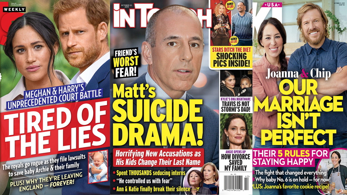 This Week in Tabloids: How Not to Write About a Rape Accusation