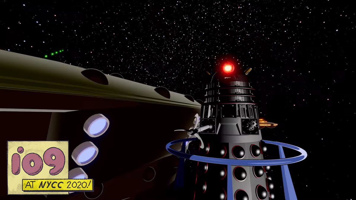 The Daleks Go to War in a First Look at Their New Animated Web Series