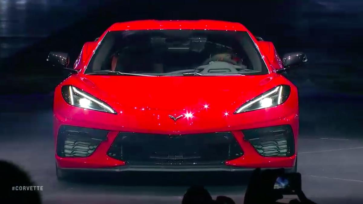 The 2020 Chevrolet C8 Mid Engine Corvette Has 495 Hp
