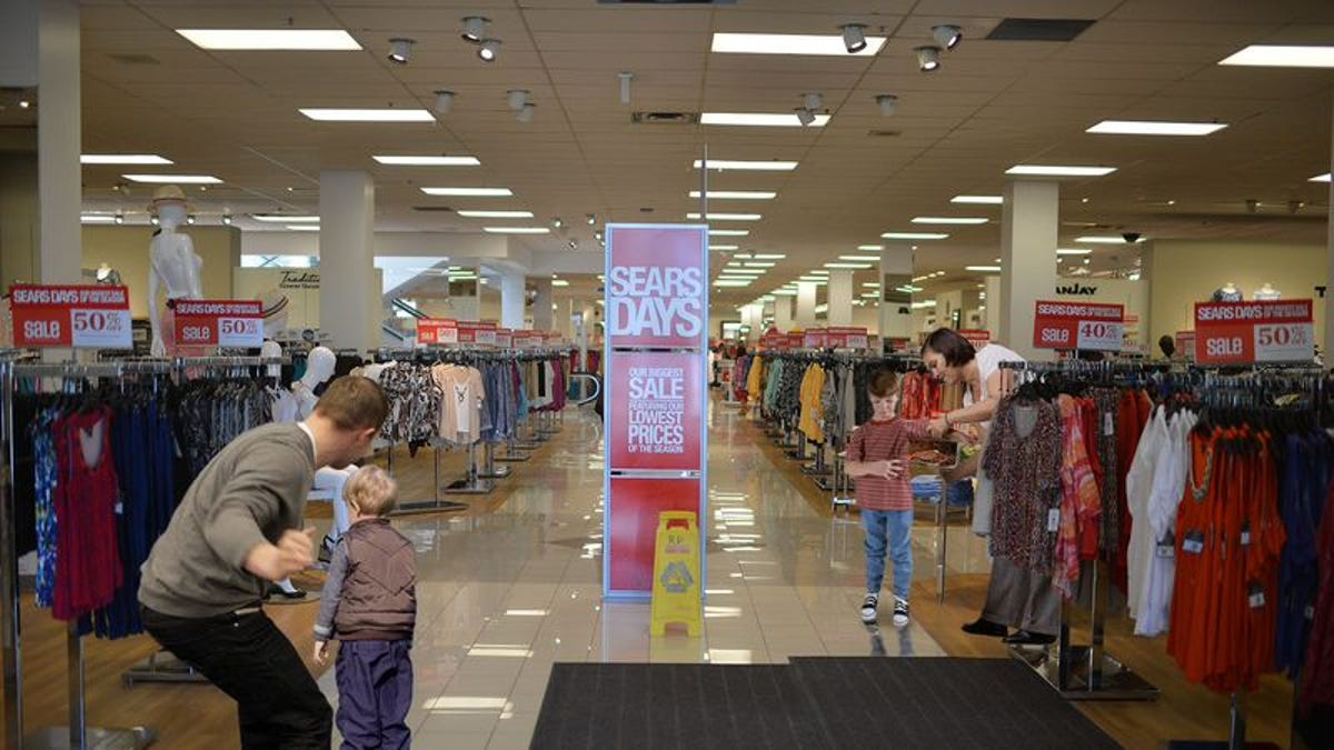 Everyone In Sears Spanking A Child
