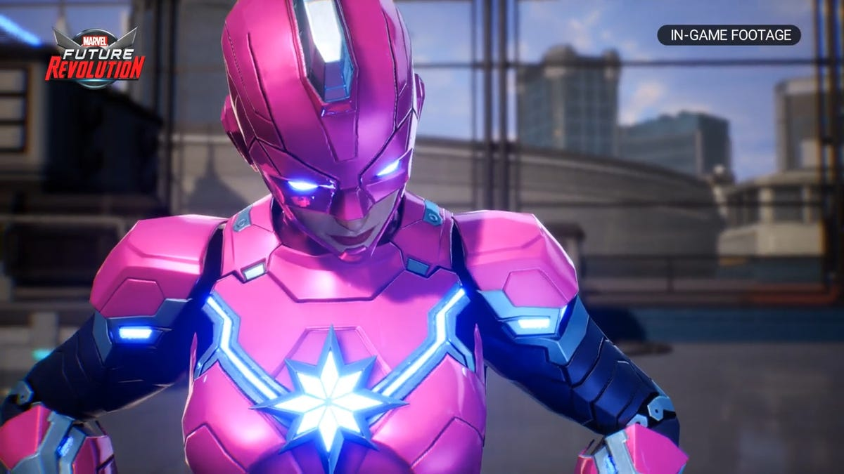 Marvel's Next Mobile Game Is An All-Star Open-World RPG