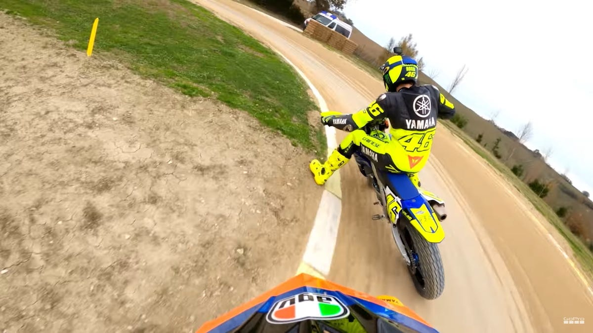Get An Onboard View Of Valentino Rossi's Dirt Endurance Race Win